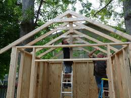 How To Build A Garden Shed From Scratch by Build Your Own Storage Shed 12 Steps With Pictures
