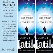 matilda by roald dahl a tale of bullying and child abuse