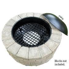Firepit Insert Walden Legacy Series Pit Grilling Grate 32 Walden Backyards