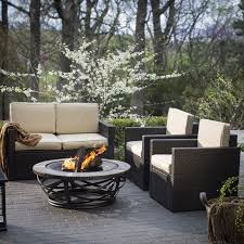 Patio Furniture At Walmart - costway 4 pc patio rattan wicker chair sofa table set outdoor