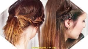 Hochsteckfrisuren Mittellange Haare Einfach by Niedlich Frisuren Lange Haare Selber Machen Einfach Deltaclic