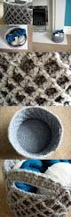 123 best crochet home decor for the home images on pinterest diamond trellis basket free crochet pattern which can be made in any size and