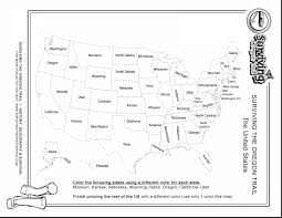 Black And White United States Map by Brilliant United States Map Coloring Page With Us Map Coloring