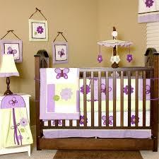 Lavender Butterfly Crib Bedding 8 Best Purple Butterfly Crib Bedding Images On Pinterest Baby