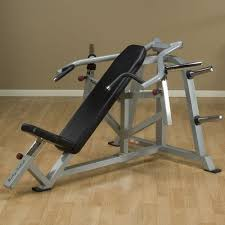 Bench Press Machine Weight Body Solid Leverage Incline Bench Press Academy