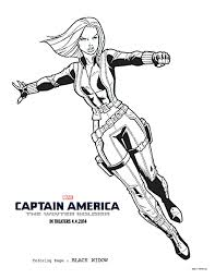 free captain america coloring pages activity pack