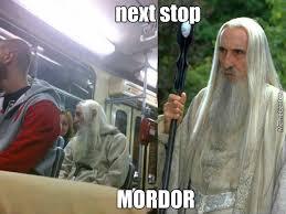 Mordor Meme - next stop mordor by pikadick meme center