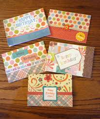 Homemade Card Ideas by Send Homemade Birthday Cards I Like Making Cards I Wish They