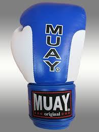 corde a sauter en cuir gants de boxe muay premium bleus blancs en cuir velcro la paire