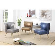 Side Chairs Living Room by Ave Six Amity Sizzle Copper Fabric Side Chair Amt51 S53 The Home
