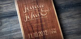 wood wedding invitations six creative wedding invitations buy wedding sparklers