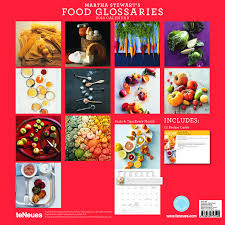 2013 martha stewart u0027s food glossaries grid calendar 9783832757540