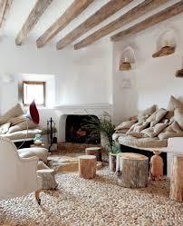 wohnzimmer rustikal wohnzimmer landhausstil gestalten rustikal steinbodenbelag