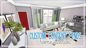 the sims 4 custom content finds home interior youtube
