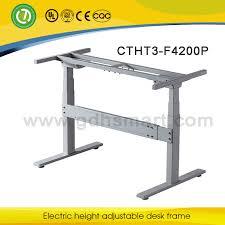 bureau ectrique électrique hauteur réglable assis ou debout table cadre bureau