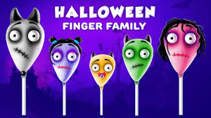 the finger family ghost cake pop family nursery rhyme halloween