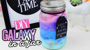 47 Cute Mason Jar Gifts For Teens Diy Projects For Teens Diy Galaxy In A Jar Youtube