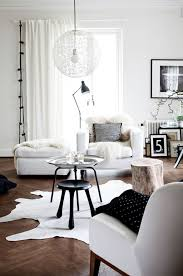 modern living room idea living room white scandinavian living space with industrial decor