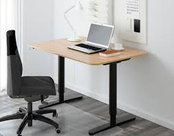 Stand Up Office Desk Ikea Uncategorized Stand Up Desks Ikea Within Bekant Office