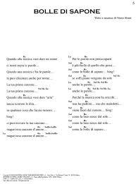 testo e di vasco partiture per voce vasco vasco testi e accordi testo