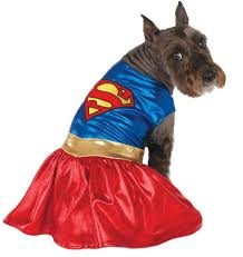 supergirl halloween costumes amazon com dc comics pet costume x large supergirl dog