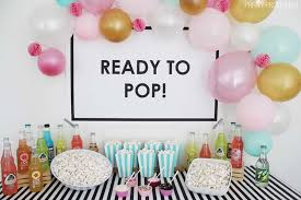 baby shower theme ready to pop baby shower