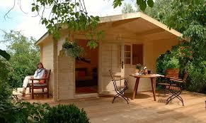 amazon com allwood kit cabin lillevilla escape patio lawn