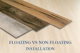 is vinyl flooring better than laminate floating floors vs non floating floors what gives