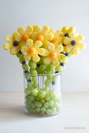 cheap fruit arrangements flower shaped foods that grow your child s taste buds