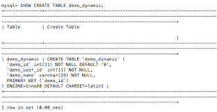 Change Table From Myisam To Innodb Mysql Optimization Faster With Myisam Fixed Row Format