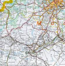 Vigo Spain Map by Map Of Central Spain Extremadura Castilla La Mancha Madrid