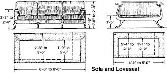 average height of couch seat standard sofa dimensions in inches functionalities net