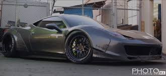 ferrari 458 liberty walk liberty walk ferrari 458 italia and nissan gt r in depth gtspirit