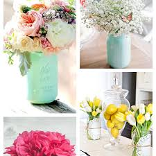 jar flower arrangements jar ideas using flowers 12 gorgeous diy s