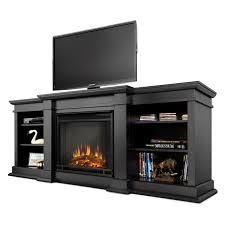 real flame fresno electric fireplace black hayneedle