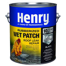 Homedepot by Henry 0 90 Gal 208r Rubber Wet Patch Roof Cement He208r142 The