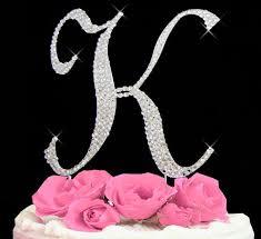l cake topper swarovski cake toppers shop swarovski cake toppers online