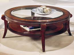 Glass And Gold Coffee Table 10 Best Ideas Of Round Coffee Tables With Glass Top And Wood