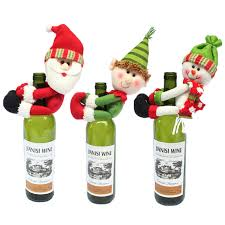 aliexpress buy santa snowman wine bottle cover