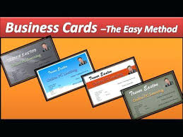 marvellous business cards on microsoft word unique card templates