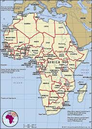 africa continent map africa geography facts britannica