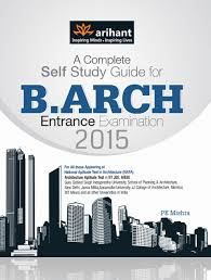 a complete self study guide for b arch entrance examination 2015