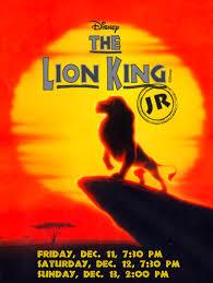 disney u0027s lion king jr wilson middle performances