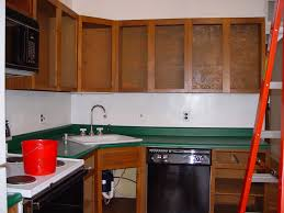 outdated kitchen cabinets quick kitchen counter update with textured spray paint old