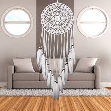 Shop Online Decoration For Home by Popular Dream Catcher Home Decor White Feather Dream Buy Cheap