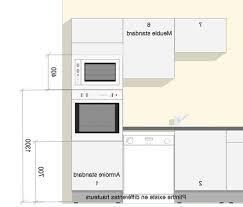 dimensions meuble cuisine beau meuble cuisine dimension douane dimension meuble pour four