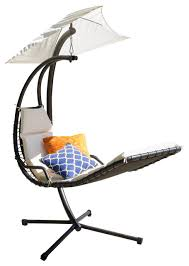 Hanging Chaise Lounge Chair Sonoma Chaise Lounge Chairs Hammocks And Swing Chairs Houzz