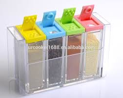 plastic clear clear spice jars cheap spice shaker rectangular