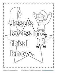 jesus loves printable coloring pages jesus loves