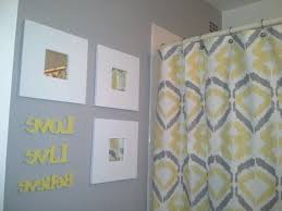 yellow and gray bathroom ideas yellow and gray bathroom decor home design and decorating